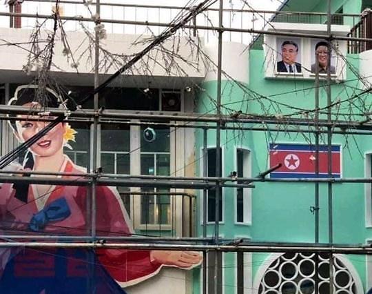 """""""朝鲜主题酒馆""""亮相弘大 还没开张就遭整改"""