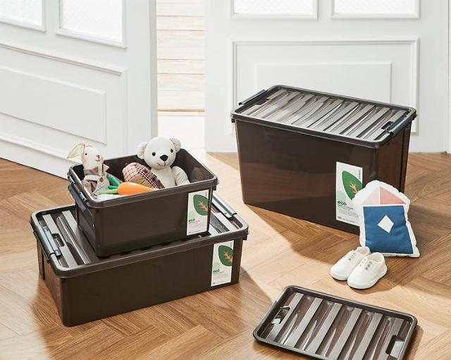 락앤락, 자투리 플라스틱 재활용 에코 이지클립 수납함 출시