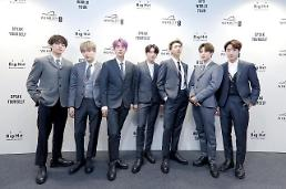 .K-pop band BTS resumes activities abroad after month-long vacation.
