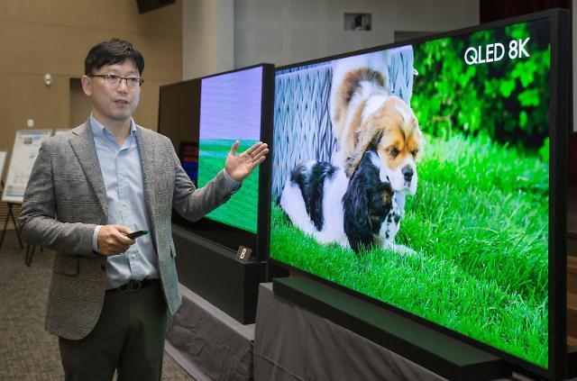 """반격 나선 삼성전자 """"LG TV, 8K 표준코덱 영상 재생 못 해""""(종합)"""