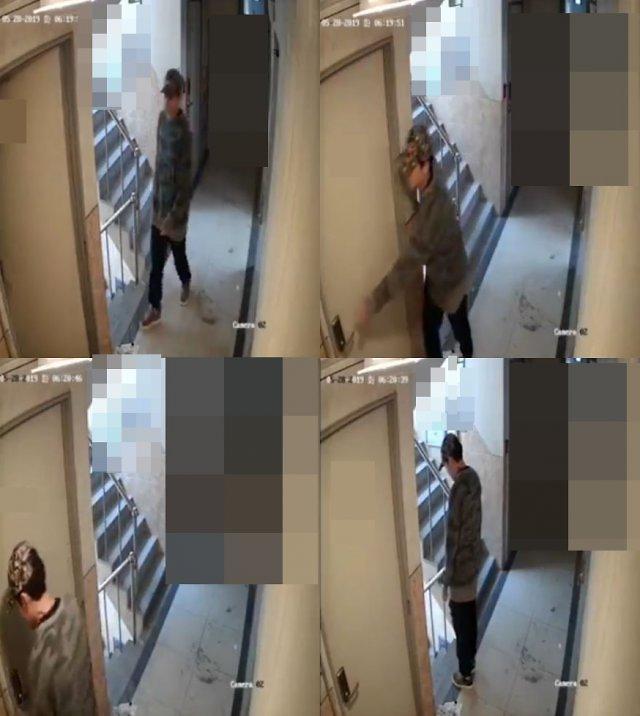"""檢 """"피해자 집 들어가기만 기다려""""... 신림동 CCTV 30대 남성 5년 구형"""