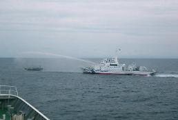 .朝外务省:出于自卫驱逐日本非法侵入船只.