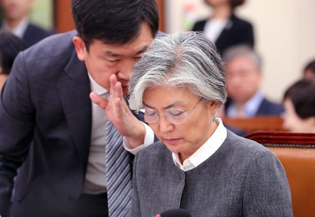 강경화, 20일 평택 미군기지 첫 방문…한미동맹 재확인