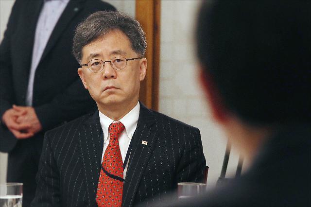 """김현종, 강경화와 갈등설에 """"의욕 앞섰다…제 자신 낮출 것"""""""
