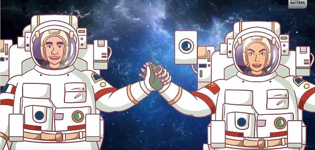[인민화보]중국과 프랑스는 어떻게 우주 파트너가 됐을까?