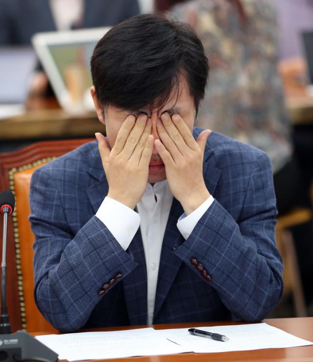 [포토] 직무 정지 6개월 징계받은 하태경 의원