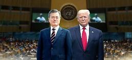 .韩美首脑23日在纽约举行会谈 共商无核化合作、强调同盟关系.