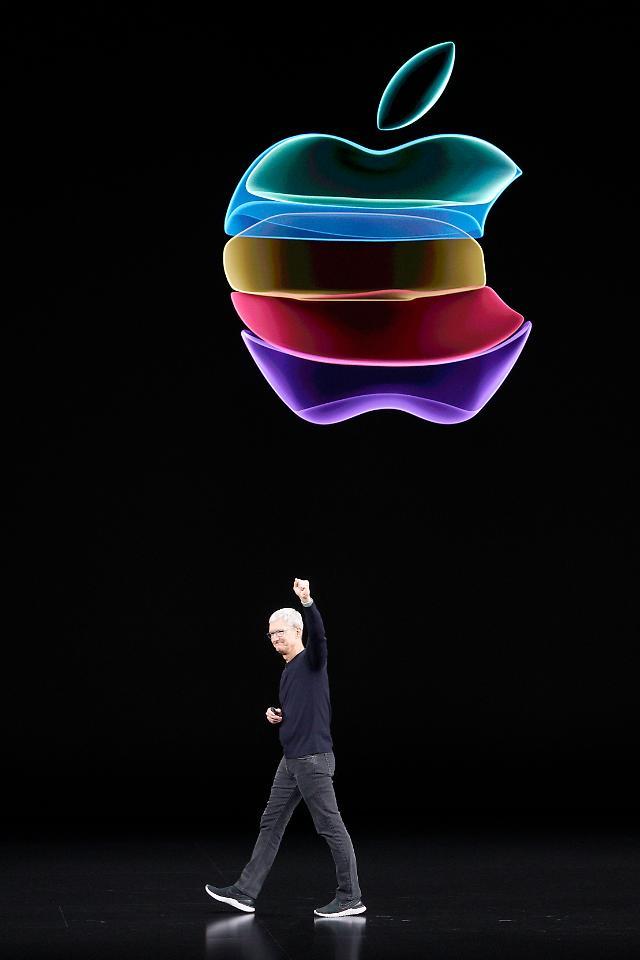 미중 무역전쟁 속 애플 브랜드 이미지 곤두박질