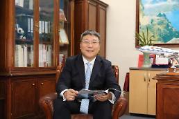 """.""""在中韩交流中架起'服务型'桥梁""""——专访中国国际航空公司首尔营业部总经理贾航宇."""