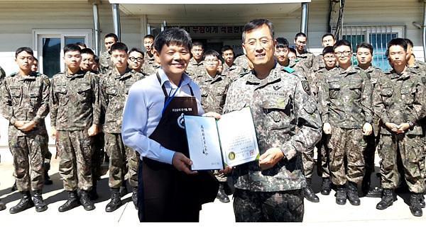 한국토종닭협회·다향(다솔), 격오지 군부대에 토종닭 삼계탕 100인 분 대접