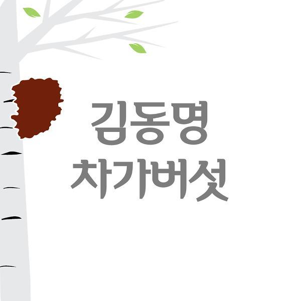김동명 차가버섯, 핵심영양 총 페놀성 화합물 22% 증진 발효 특허 등록