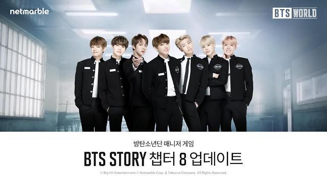 넷마블, 'BTS월드' 방탄소년단의 새로운 스토리 추가