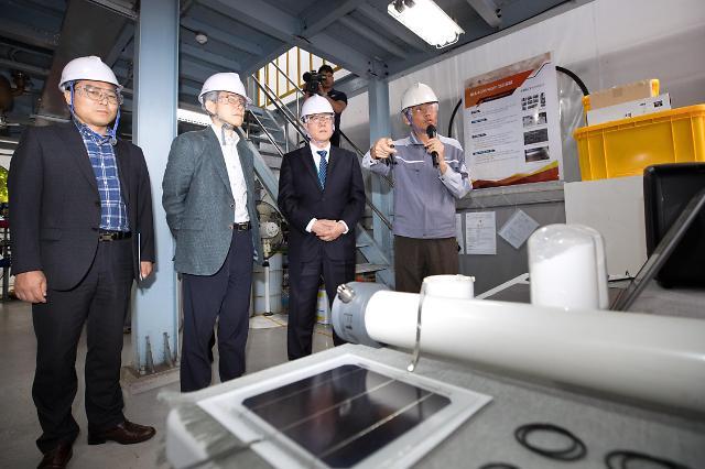 소·부·장 탈일본 속도낸다...최기영 장관 연일 R&D 현장방문
