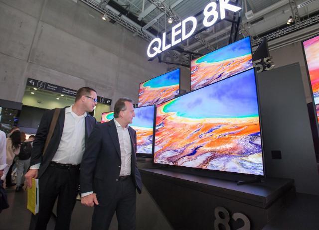 삼성전자, QLED TV 여의도 면적 2배 팔았다…누적 판매량 540만대 돌파