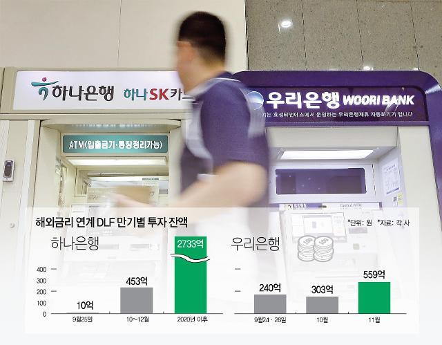 하나은행 DLF 손실률 46%…1억 투자자 5천만원 날렸다