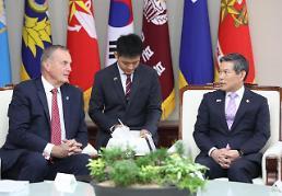 .韩防长会见美国北大西洋理事会代表团.