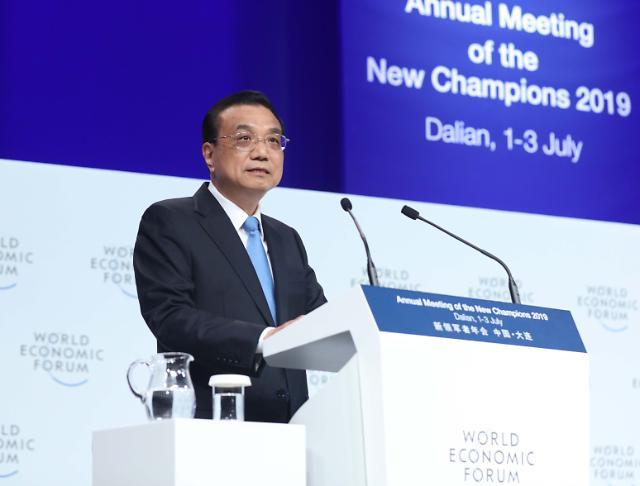 리커창, 中 건국 70주년 기념 행사서 경제 운영 자신감 피력