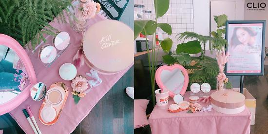 클리오, 핑크 광채 크림쿠션 출시 기념 인증샷 이벤트