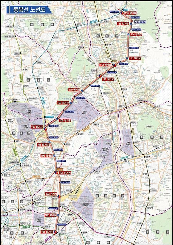 왕십리~상계 동북선 도시철도 28일 기공식…2024년 개통