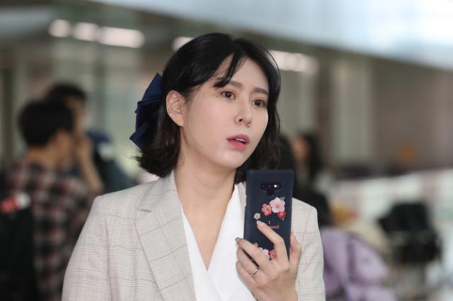 """윤지오, 경찰 체포영장 신청에 """"난 살인자·사기꾼 아닌 증언자"""""""