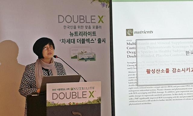 암웨이, 뉴트리라이트 '차세대 더블엑스'로 건기식 1위 굳힌다