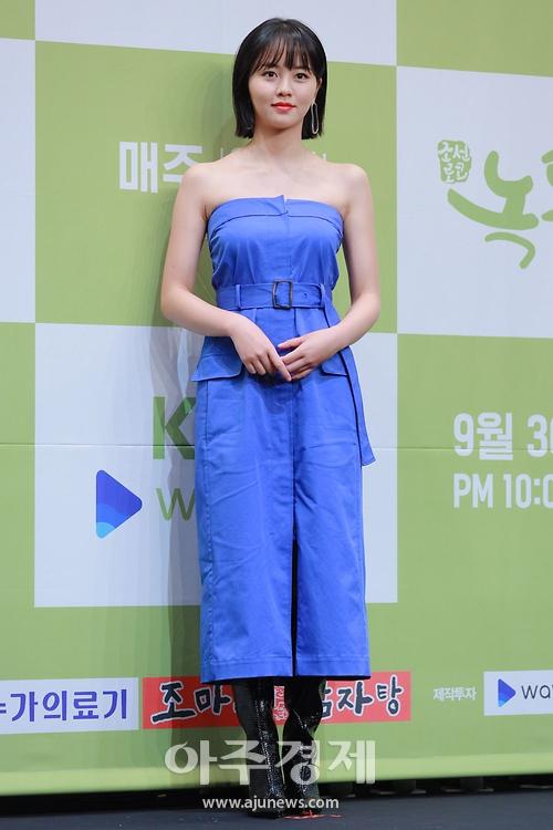 김소현, '과감한 오프숄더 원피스로 매력 발산' (조선로코-녹두전 제작발표회)