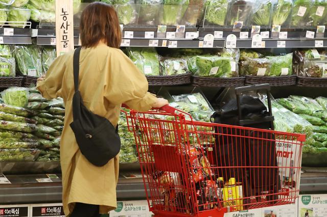 韩9月CPI同比下降0.4% 首次出现负增长