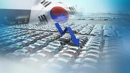 .韩国五大整车厂商9月销量同比减2.2%.
