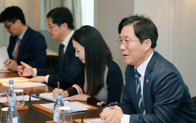 [2019 국감] 성윤모 산업부장관, 기업불확실성 가중...산업 구조 혁신할 것