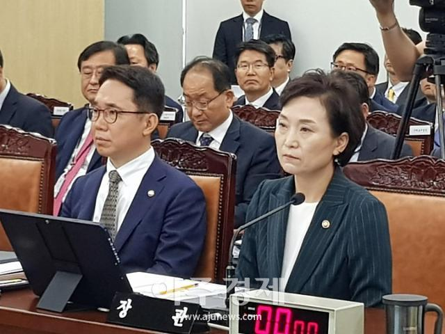 """김현미 장관 """"현재까지는 내년 총선 출마할 생각"""""""