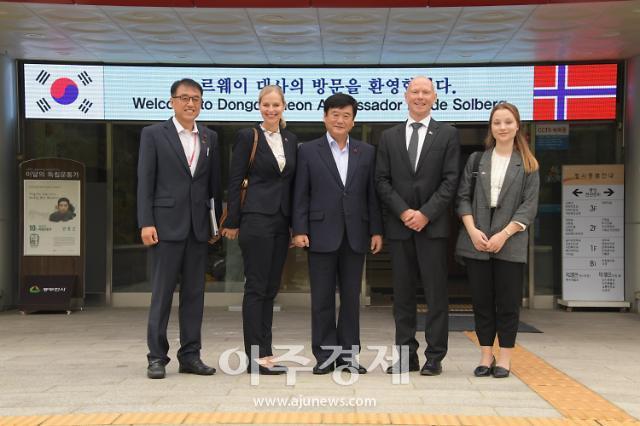 대한민국-노르웨이 수교 60주년 맞아 주한노르웨이 대사 동두천시 방문