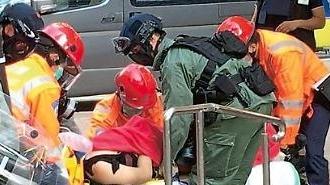 홍콩경찰, 유혈진압 매뉴얼 급조…고교생 총상 예고된 결과
