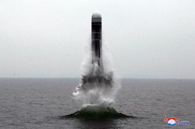 """朝鲜称""""北极星3""""号潜射导弹试射成功"""