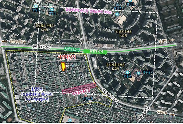 서울시, 잠실새내역 인근에 역세권 청년주택 217가구 공급