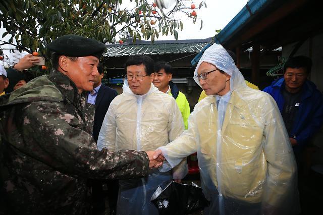 민주, 강원도 태풍 '미탁' 피해현장 방문…내일 고위 당정청 회의 열기로