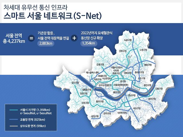 """2022년 서울 전역에 무료 공공 와이파이…""""초연결 스마트도시 조성"""""""