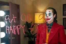 .电影《小丑》在韩上映 强势登顶周末票房.