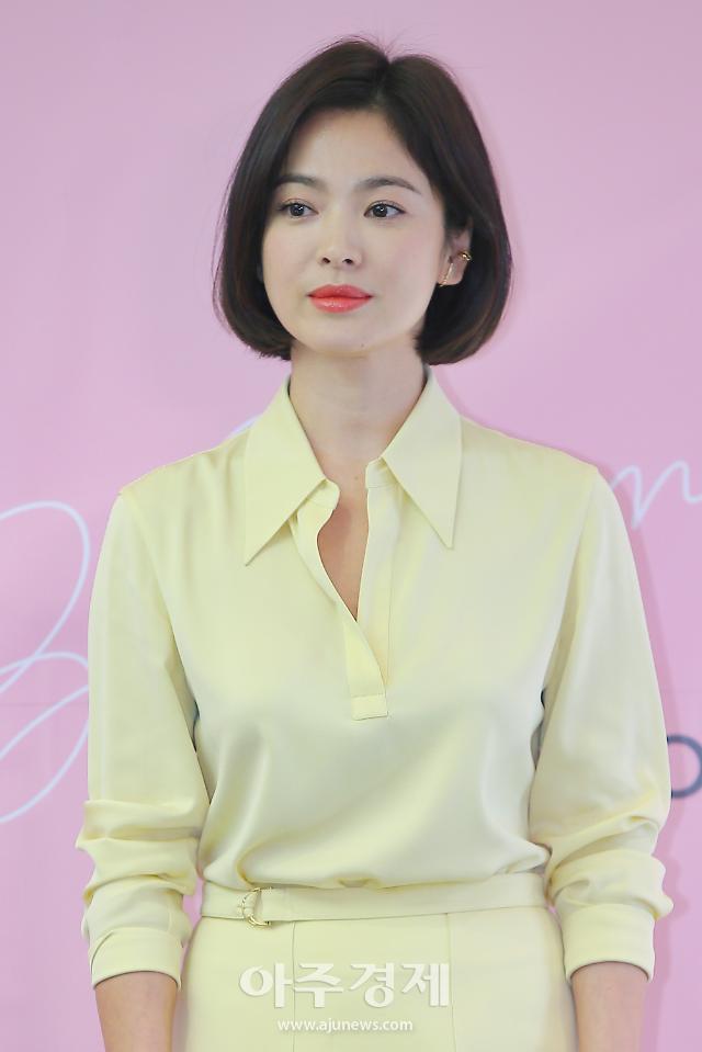 송혜교, 안나로 5년 만에 스크린 복귀할까…활동 재개