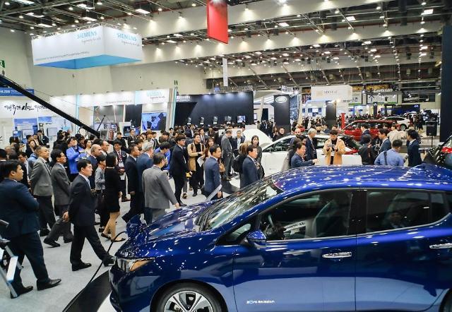 국내 최대 규모 대구 국제 미래자동차엑스포 개막