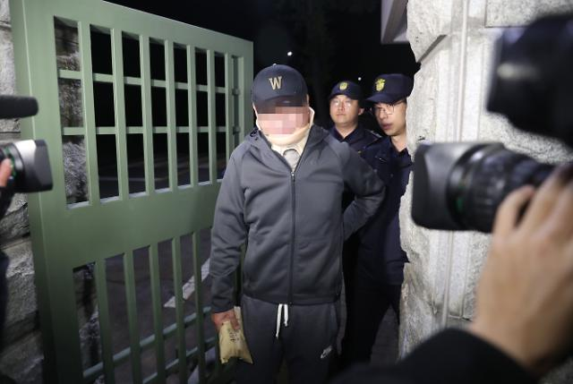 [포토] 구속영장 기각...구치소 나서는 조국장관 동생