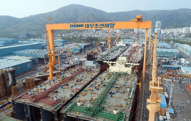 9월 선박 수주 한국, 5개월만에 중국에 1위 내줘