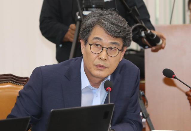 """[2019 국감] 김광수 """"국민연금 日전범기업 투자, 국민 반대 60%"""""""