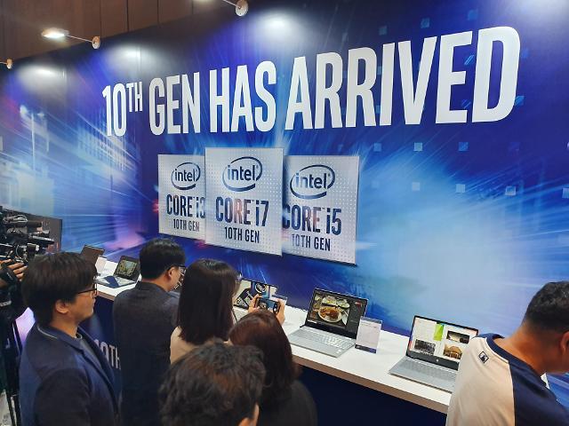 인텔, 10세대 프로세서 국내 첫 공개…차세대 CPU 노트북 연말 일제 출격