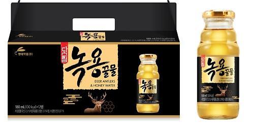 현대약품, 벌꿀‧녹용 추출액 함유 '다스림 녹용꿀물' 음료 출시