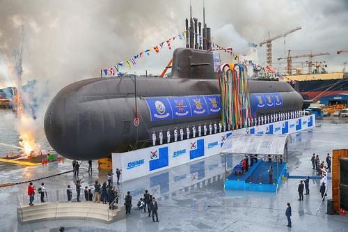大宇造船海洋接到潜水艇等价值93亿元订单
