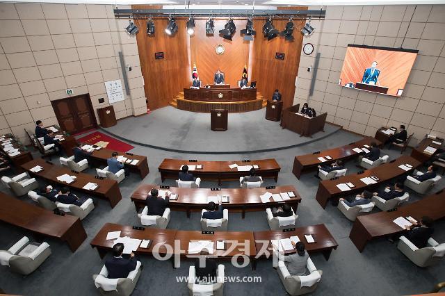 군산시의회, 제222회 임시회 개회