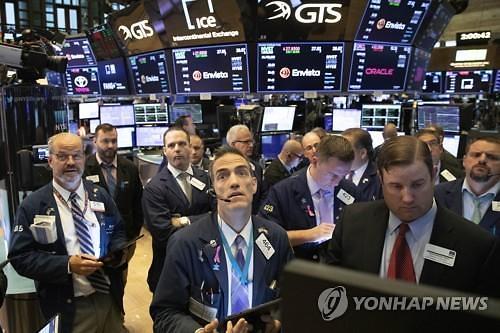 [글로벌마켓]미중 무역협상 1단계 합의에 반색...다우지수 1.21%↑