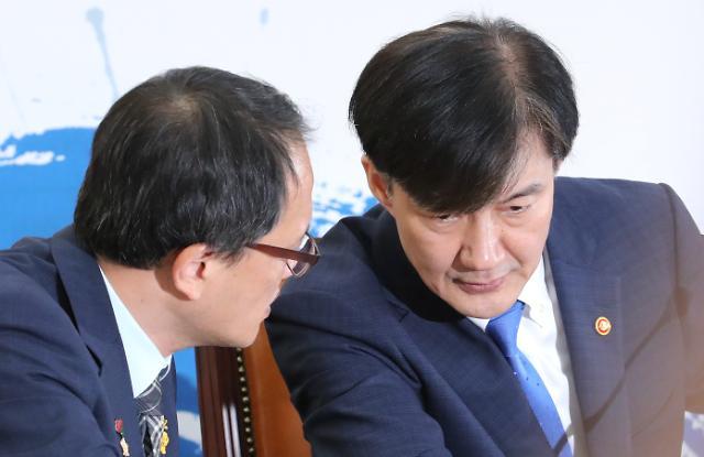 """조국 """"검찰개혁, 무슨 일이 있어도 끝을 봐야"""""""