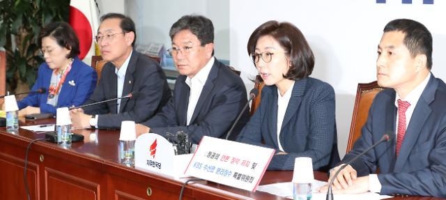 """나경원 """"검찰개혁 당정은 수사 방해...'조국 구하기' 가짜 당정"""""""