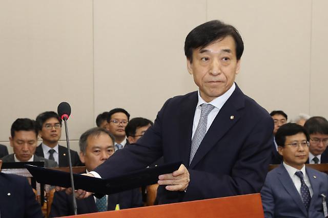 【2019国政监察】央行总裁李柱烈:经济增长率难以实现2.2%